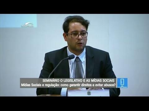 Legislativo e Mídias Sociais - TV Senado ao vivo - Seminário - 24/05/2018