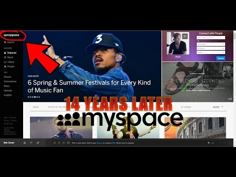 myspace 14 years later...