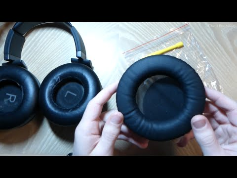 Replacing the Pads on My AKG K550 Headphones