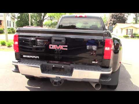 2015 GMC 3500 SLT DRW 4WD DURAMAX - Used Truck For Sale - Wooster, Ohio