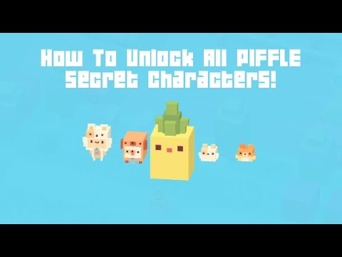 Crossy Road 'Piffle' Update - How To Unlock All New Secret Characters!