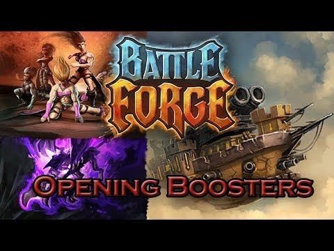 BattleForge - Opening booster packs with MrXLink