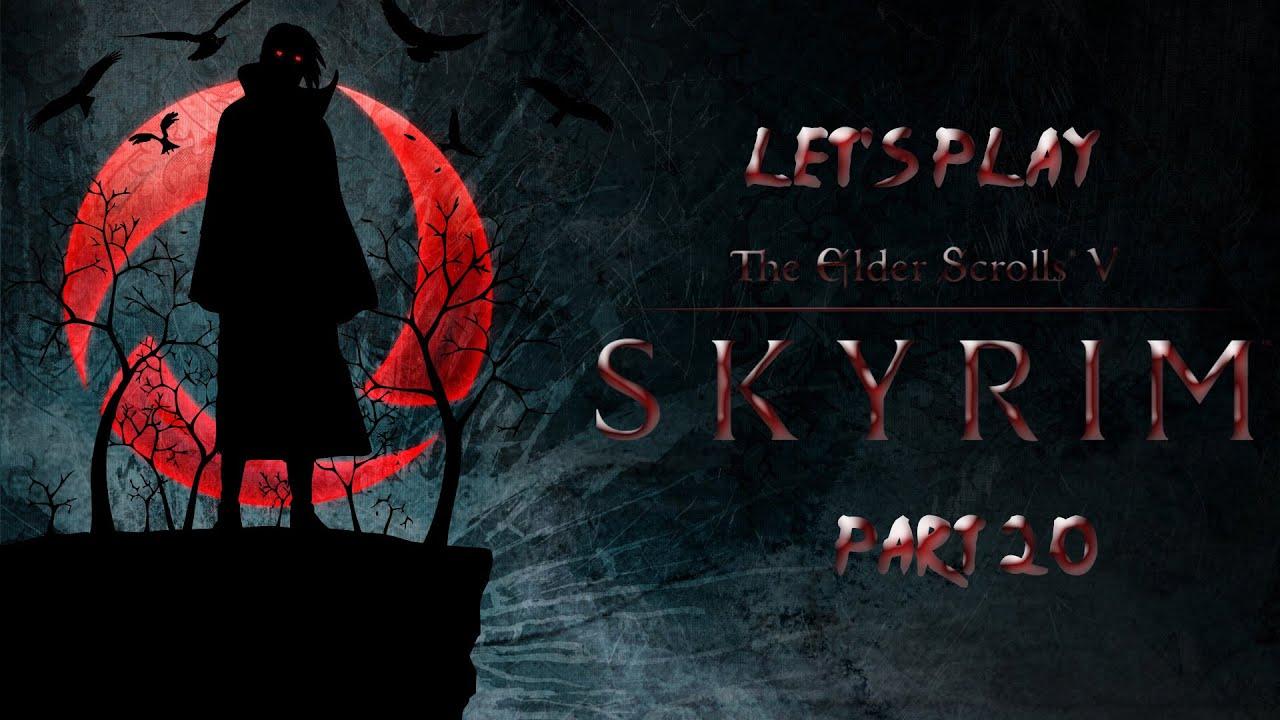 Let's Play Skyrim: Uchiha Playthrough Part 20 - Rescuing Esbern!