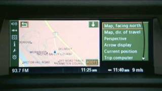 X5 - Navigation Overview Owner's Manual