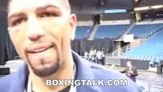 Hall Of Famer Winky Wright after win over Ike Quartey Boxingtalk Classic