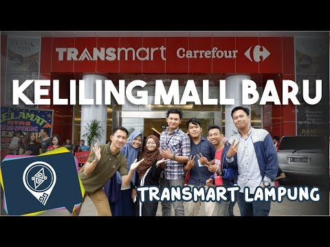 [MIDER MIT LAMPUNG] Transmart Lampung - Mall Terbaeek di Lampung!!