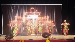 Anupama Renjith performance KUCHIPUDI THARANGAM
