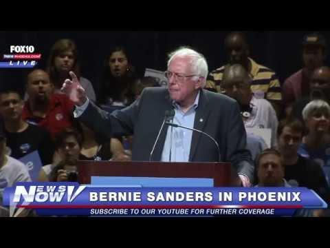 LIVE: Bernie Sanders' Phoenix rally