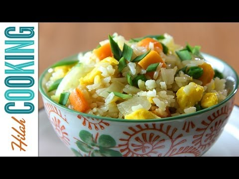 How To Make Fried Rice | Hilah Cooking