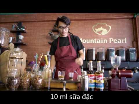 Hướng dẫn pha chế cafe 4 tầng