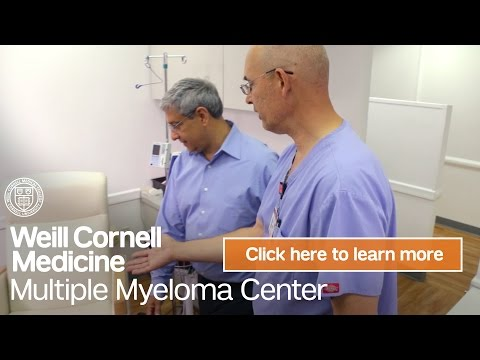 Myeloma Cancer Center NYC | Weill Cornell Medicine Multiple Myeloma Center
