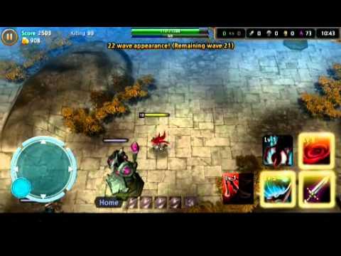 [Android] LoL Last Attack Global – Katarina Gameplay