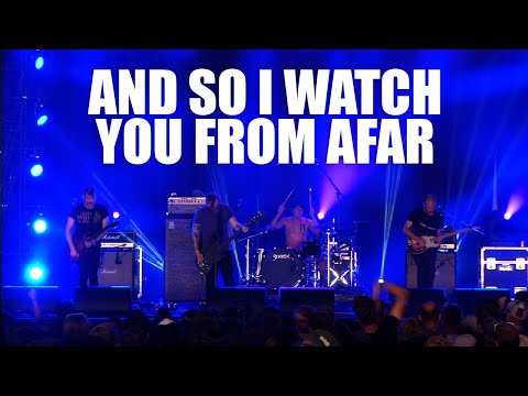 And So I Watch You From Afar - Search:Party:Animal - Live (Dour 2015)