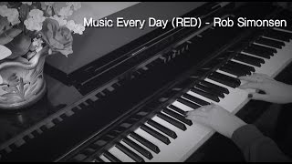 Victoria Adams - Rob Simonsen - Music Every Day (RED) piano cover