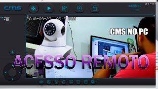 COMO ADICIONAR CÂMERA IP NO COMPUTADOR + ACESSO REMOTO CMSCLIENT