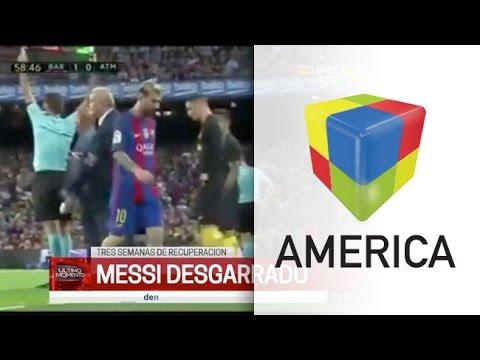 Messi se lesionó y no podrá jugar las próximas fechas de Eliminatorias
