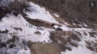 Спецоперация  \Лавина\ в горах Чечни.