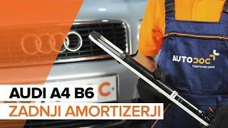 Kako zamenjati Blažilnik AUDI A4 (8E2, B6) - video vodič