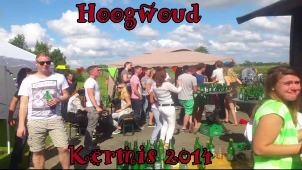 Hoogwoud kermis 2014   youtube