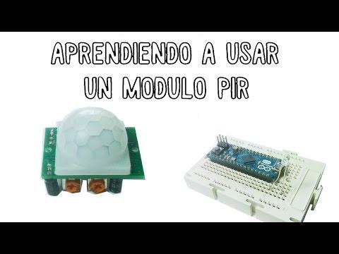 Aprendiendo a usar un módulo PIR (sensor de movimiento)