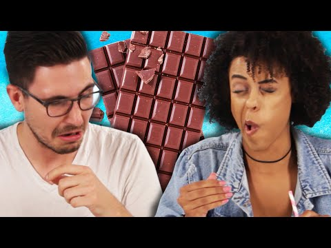 Thumbnail: Chocolate Lovers Try Snortable Chocolate