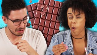 Chocolate Lovers Try Snortable Chocolate