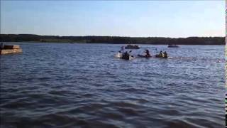 Final Cardboard Race (7-4-2014)