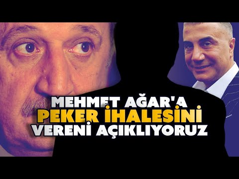 Mehmet Ağar'a Sedat Peker ihalesini vereni açıklıyoruz