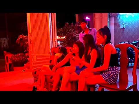 Cute Girl Cambodia Nightlife KTV - Night Club In My Village (bars, clubs, girls) # 1