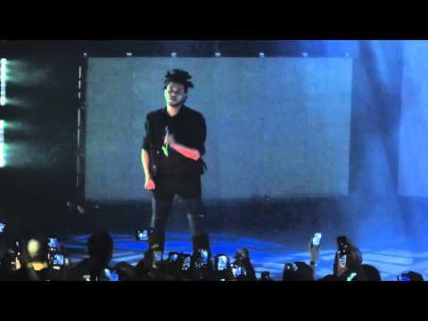 The Weeknd- Love In The Sky (live) HD x Kiss Land FallTour Dallas, TX