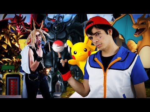 POKEMON VS YU-GI-OH! - Rap Battle