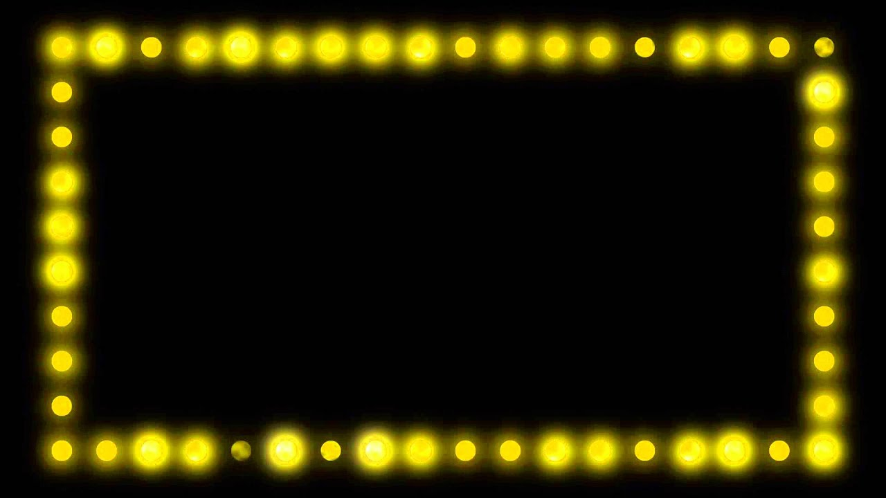 Marquee Border Lights Hd Video Background Loop Youtube