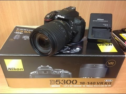 NIKON D5300 DSLR Camera Un-Boxing And Review [Hindi]