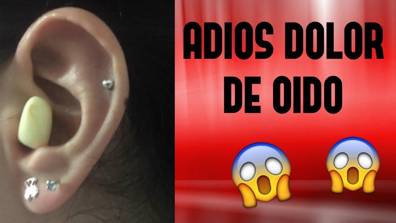 gotas para el dolor de oido con antibiotico
