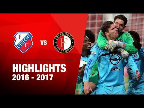 Samenvatting FC Utrecht - Feyenoord 2016-2017