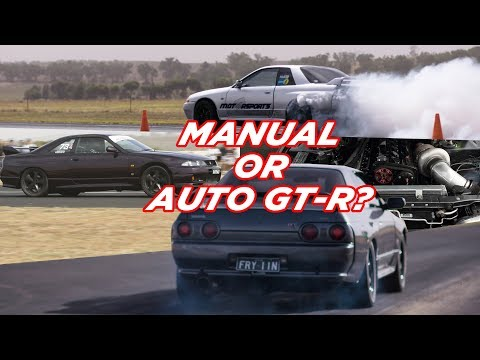 1000hp GT-R AUTO or MANUAL?  - 2018 GT-R Challenge Pt.4