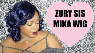 Zury Sis Mika Wig- Indigo Blue
