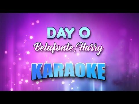 Belafonte, Harry - Day O (The Banana Boat Song) (Karaoke version with Lyrics)