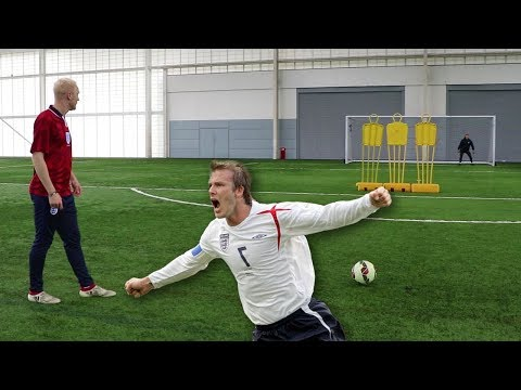 GREATEST ENGLAND GOALS FOOTBALL CHALLENGE!