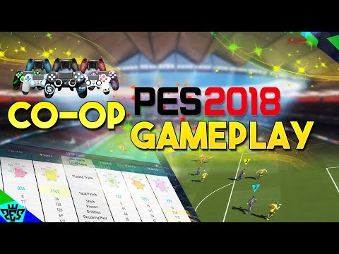 [TTB] PES 2018 - Co-op Gameplay - New Game Mode