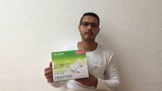 TP-LINK Powerline TL-WPA4530 KIT unboxing & Review Video (Deutsch)