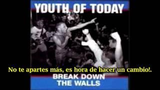 Youth Of Today Make A Change (subtitulado español)