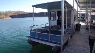 2000 Aqua Chalet 36 Pontoon Houseboat For Sale on Norris Lake TN - SOLD!