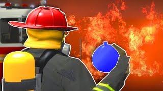 WORST FIREFIGHTER EVER? - Garry's Mod Gameplay - Gmod Firefighter Roleplay