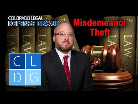 Misdemeanor theft in Colorado - Will I go to jail?