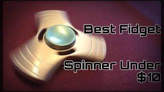 Review: Best Fidget Spinner Under $10 (All Brass Victorem)