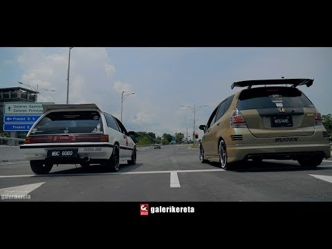 Meet JDM Osaka Honda Civic SB3 and FIT GD Mugen
