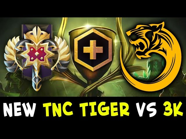 TNC Tigers NEW ROSTER loses vs 3k — Battle Cup FIRST match
