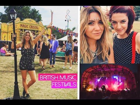 BRITISH MUSIC FESTIVAL FUN!