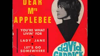 David Garrick - Dear Mrs Applebee